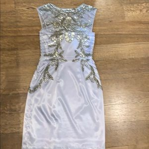 Sue Wong Dresses - Sue Wong silver sequins dress